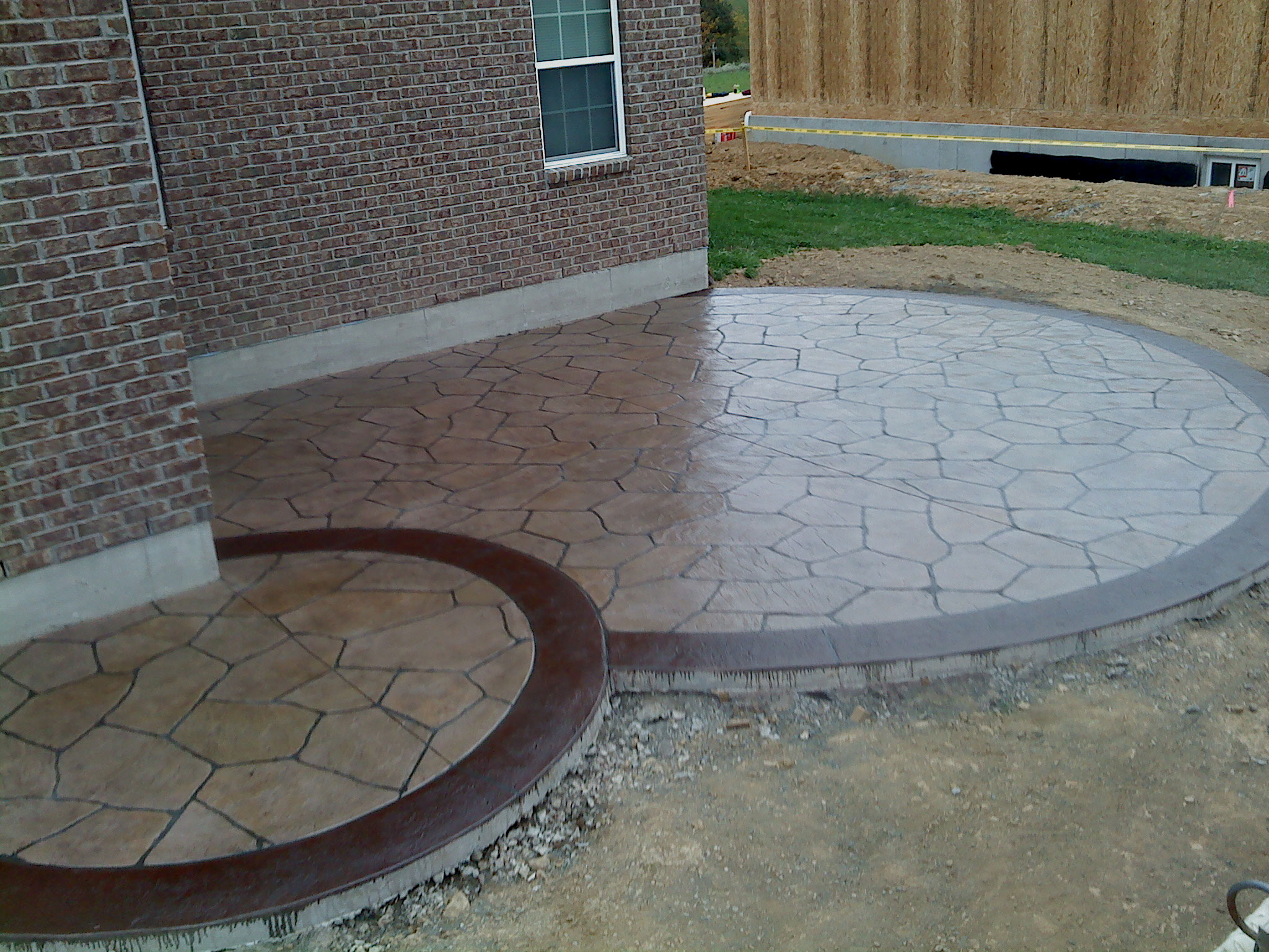 driveways and patios concrete